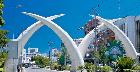 Famous Tusks In Mombasa Town